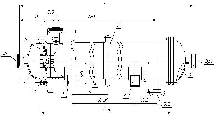 Кожухотрубный (кожухотрубчатый) испаритель типа ИКВ Салават Кожухотрубный конденсатор Alfa Laval CDEW-E350 T Уфа