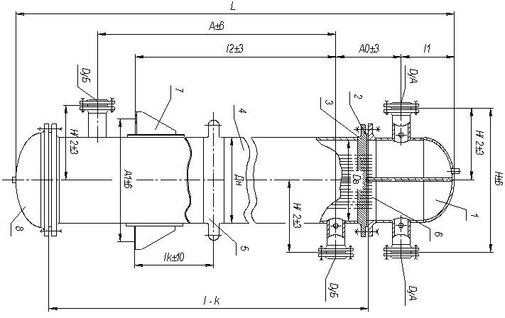 Кожухотрубные теплообменники FUNKE серии C400 Артём
