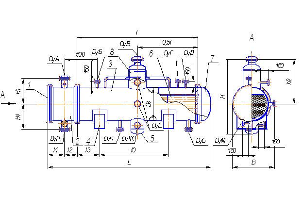 Теплообменник конденсатор промежуточный средство для очиски теплообменников